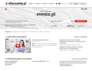 evento.pl screenshot