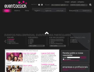 eventoclick.pt screenshot