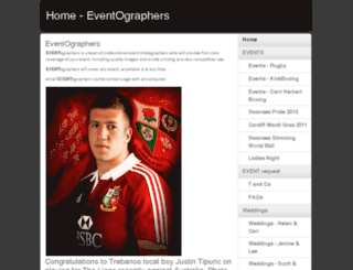eventographers.co.uk screenshot