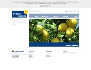 eventoitaliano.com screenshot
