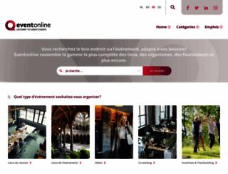 eventonline.fr screenshot