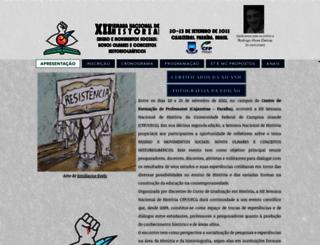eventoshistoriacfp.com.br screenshot