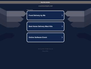eventosimple.net screenshot