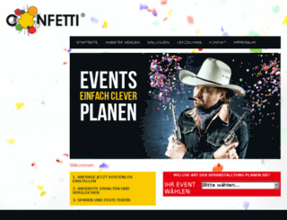 eventplaner.confetti.de screenshot