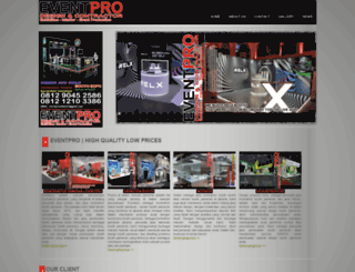 eventpro-kontraktorpameran.com screenshot
