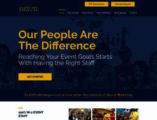 eventprostrategies.com screenshot