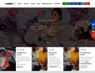 eventrii.com screenshot