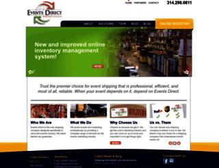 events-direct.com screenshot