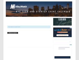 events.alleywatch.com screenshot