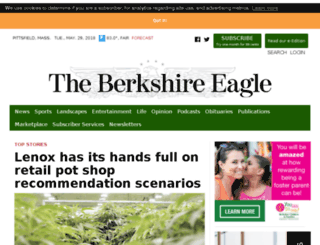 events.berkshireeagle.com screenshot
