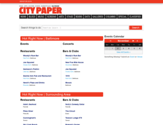 events.citypaper.com screenshot
