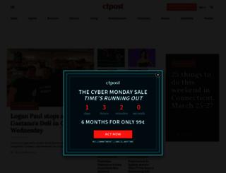 events.ctpost.com screenshot