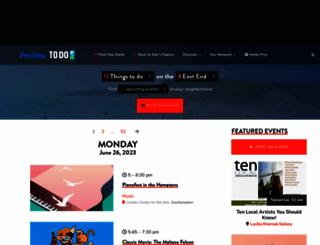 events.danspapers.com screenshot