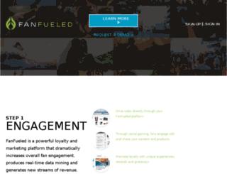 events.fanfueled.com screenshot