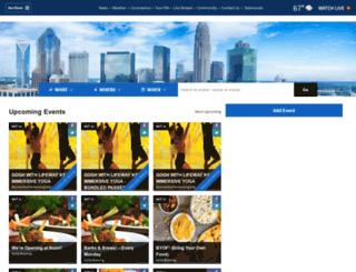 events.gocarolinas.com screenshot