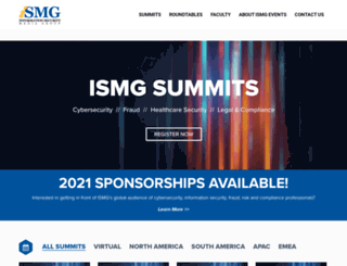 events.ismgcorp.com screenshot