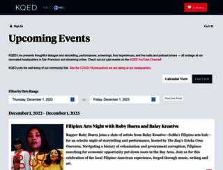 events.kqed.org screenshot