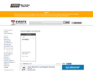 events.krdo.com screenshot