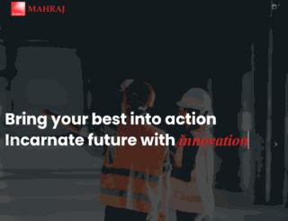 events.mahraj.com screenshot