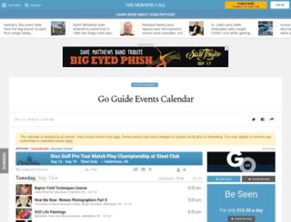 events.mcall.com screenshot