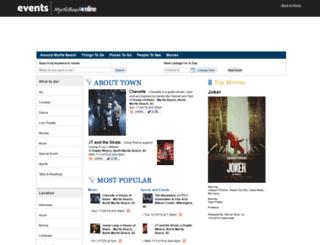 events.myrtlebeachonline.com screenshot