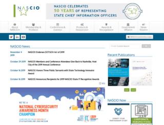 events.nascio.org screenshot