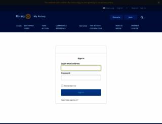 events.rotaryintl.org screenshot