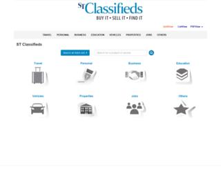 events.stclassifieds.sg screenshot
