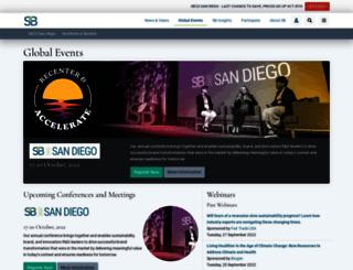 events.sustainablebrands.com screenshot