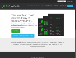 events.thewizard.com screenshot
