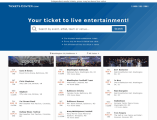 events.tickets-center.com screenshot