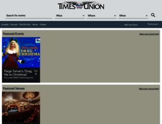 events.timesunion.com screenshot