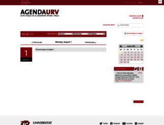 events.urv.cat screenshot