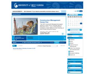 events.uwf.edu screenshot