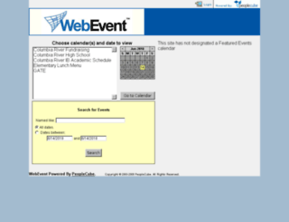 events.vansd.org screenshot