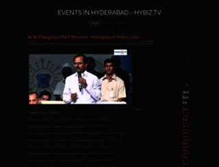 eventsinhyderabad.weebly.com screenshot