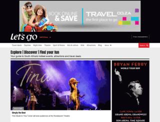 eventsnow.co.za screenshot