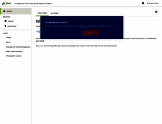 eventspace.georgetown.edu screenshot