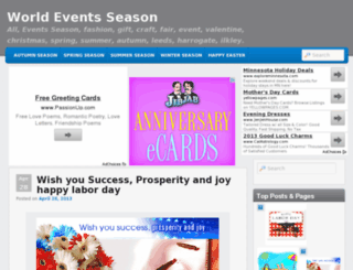 eventsseason.com screenshot