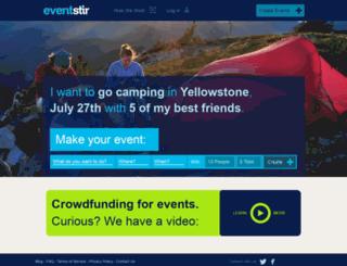 eventstir.com screenshot