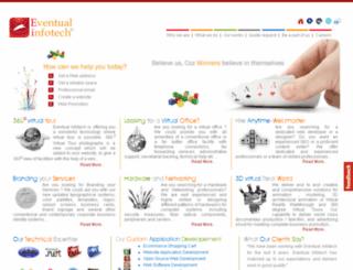 eventualinfotech.com screenshot