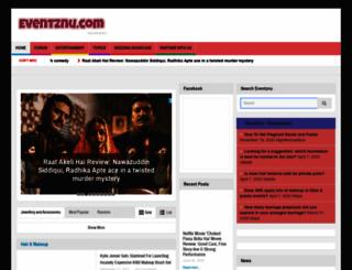 eventznu.com screenshot