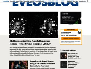eveosblog.de screenshot