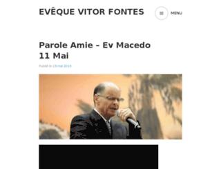 evequevitorfontes.com screenshot