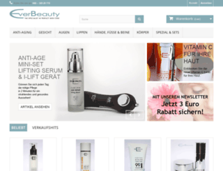 everbeauty.com screenshot