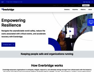 everbridge.com screenshot
