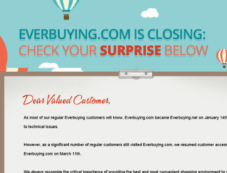 everbuying.com screenshot