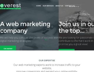 everest-web.com screenshot