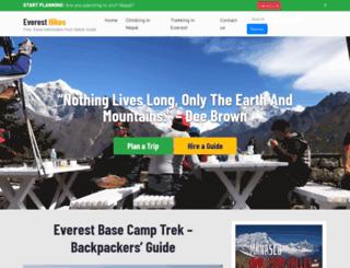 everesthikes.com screenshot