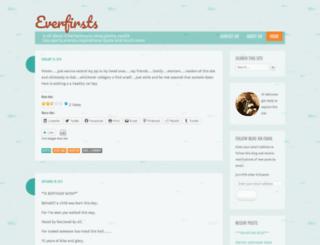 everfirsts.wordpress.com screenshot